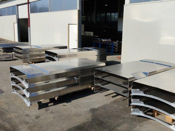 Proizvodnja aluminijskih dijelova i konstrukcija za tračna vozila