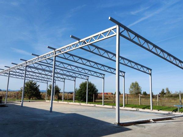 Izrada i montaža metalnih konstrukcija, hala i nadstrešnica