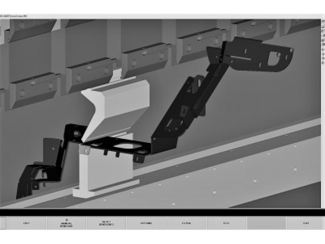 3D, model, komplicirano savijanje, lim