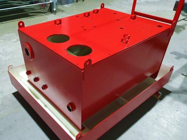 Lakiranje spremnika uljeotpornim bojama i zaštita od korozije